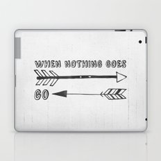When Nothing Goes Right, Go Left Laptop & iPad Skin