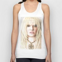 britney Tank Tops featuring Britney by LeonieMV