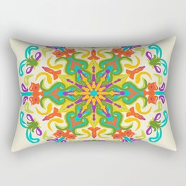 Gente olha pro céu Rectangular Pillow