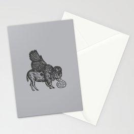 The Buffalo's Plea Stationery Cards
