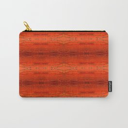 Rustic Orange Geometric Southwestern Pattern - Luxury - Comforter - Bedding - Throw Pillows - Rugs Carry-All Pouch