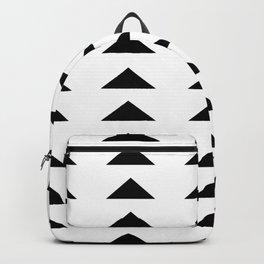 Mud cloth triangles minimalism Backpack