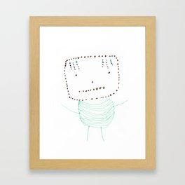 Louis-bot Framed Art Print