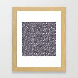 A Plethora (Purple Smoke) Framed Art Print