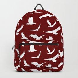 Eagles // Maroon Backpack