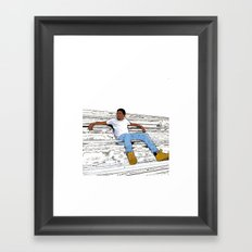 Cole Framed Art Print