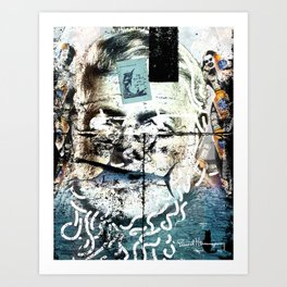 ernest hemingway Art Print