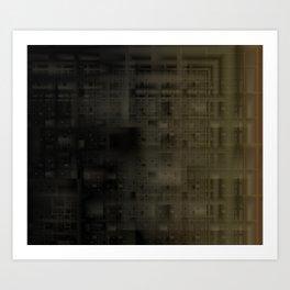 Dark City Art Print