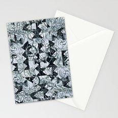 Black Burros Stationery Cards