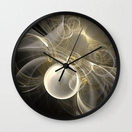 Aglow Wall Clock