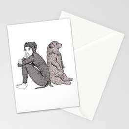 best friends Stationery Cards
