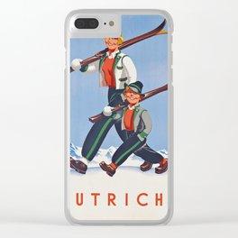 Ski Austria Clear iPhone Case
