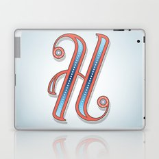 Letter H Laptop & iPad Skin