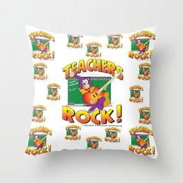 Teachers Pattern 7000 Throw Pillow