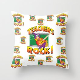 Teachers Pattern 7000 Throw Pillow