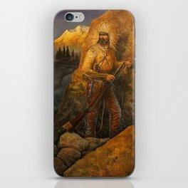 An Uneasy Sunrise iPhone Skin
