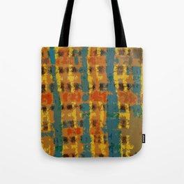 Modern Plaid No.2 Tote Bag