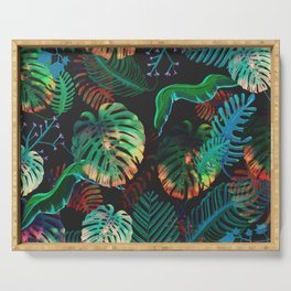 Colorful Tropical Serving Tray