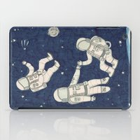 spaceman iPad Cases featuring Spaceman by Pily Clix