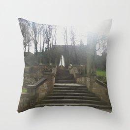 St Chad's Parish church rochdale Throw Pillow