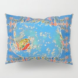Portrait of a Mediterranean Frog Prince Pillow Sham