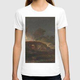 Limekiln at Coalbrookdale (1797) by J.M.W. Turner T-shirt