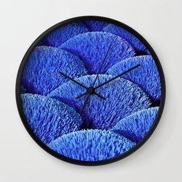 Blue Asian Impression Wall Clock