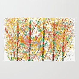 Colorful Trees 4 Rug