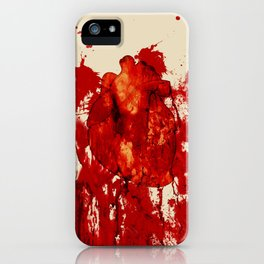 Blood Heart iPhone Case