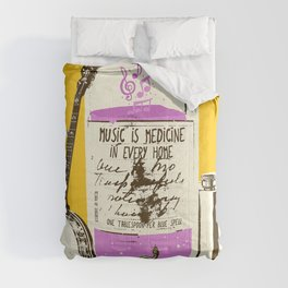 MUSIC IS MEDICINE Comforters