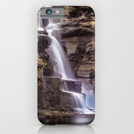 River Clydach waterfalls iPhone Case