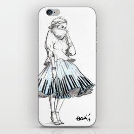 midi skirts iPhone Skin