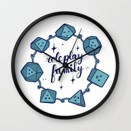 Roleplay family Wall Clock