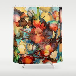 Color Splash 2 Shower Curtain