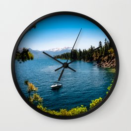 Floatin on By Wall Clock