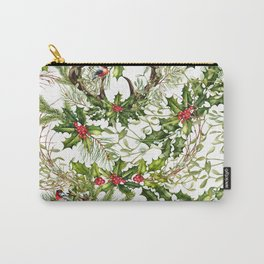 Holly Collage Carry-All Pouch