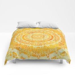 Sun Mandala 4 Comforters