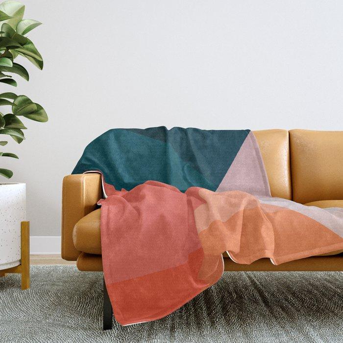 Geometric 1708 Throw Blanket