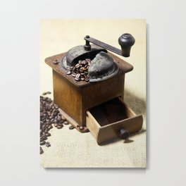 coffee grinder 6 Metal Print