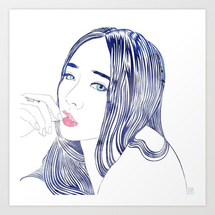 Nereid Art Print