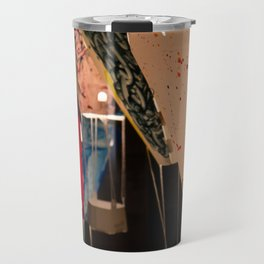 Hand crafted hot air balloons for lantern festival in Taiwan Travel Mug