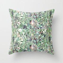 SEATTLE'S GREEN BEARD Throw Pillow