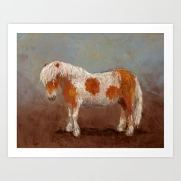 The Painted Pony Art Print
