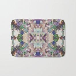 Beautifully Broken   Abstract Glass Art Bath Mat