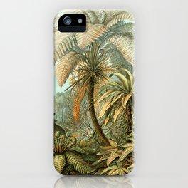 Vintage Tropical Palm iPhone Case