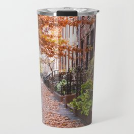 Autumn in the City Travel Mug