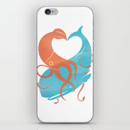 Hug It Out iPhone Skin