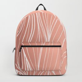 Hair in Rose Gold Backpack