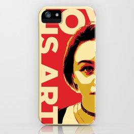 Love is Art iPhone Case