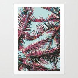 Sunbathing Art Print